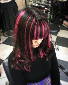 Dye My Hair, New Hair, Hair Inspo, Hair Inspiration, Hair Color Streaks, Emo Hair Color, Aesthetic Hair, Pretty Hairstyles, Hair Looks