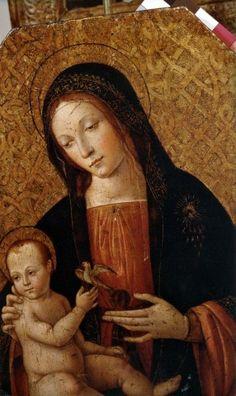 Pinturicchio, Madonna con bambino