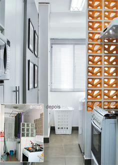 Minha Casa Renovada: cozinha clara e atualizada - Casa
