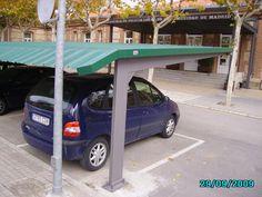 Marquesinas de aparcamiento y techos de parking para coches