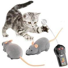 Electric RC Mouse Remote Control Mouse Vivid Small Fake Animal Trick Toy Electric  Animal Fun Toys Joke Toys Birthday Gift
