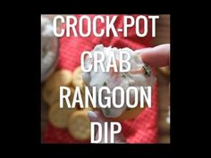 Crock-Pot Crab Rangoon Dip - Crock-Pot Ladies