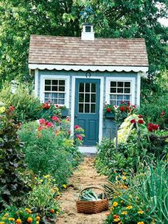 Cottage Industry: Garden Sheds
