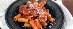 Carla Hall's Rigatoni with Sausage and Tomato Recipe | The Chew - ABC.com