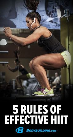 5 rules for making HIIT workouts vastly more effective. #HIITworkouts #fitness #workouts