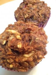 Morning Glory Muffins ~ Delicious, healthy and full of fiber goodness