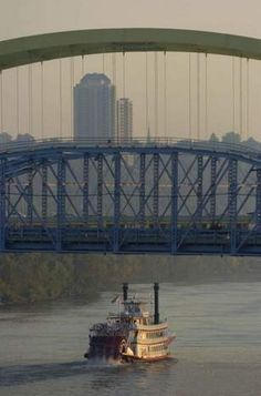 Cincinnati is famous for its riverboat history, a piece of which you can still experience today.      Photo: The Enquirer/Michael E. Keating