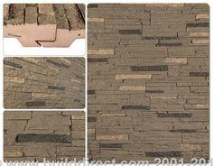 BuildDirect: Faux Stone Siding Panels Faux Stone Siding   Stacked Stone   Volcanic Gray