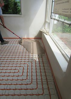 Home Heating Systems, Underfloor Heating Systems, House Front Design, Garage Design, Interior Exterior, Home Interior Design, Quonset Hut Homes, Plumbing Installation, Bedroom Wall Designs