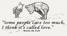 winnie the pooh. I love Winnie the Pooh.He warms my heart. Cute Quotes, Great Quotes, Funny Quotes, Inspirational Quotes, Bff Quotes, Friend Quotes, Amazing Quotes, Movie Quotes, Quotable Quotes