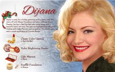 See how Dijana creates a beautiful 1950s inspired look by using Bésame Cosmetics! www.besamecosmetics.com