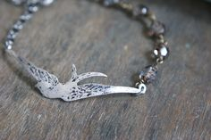 Barn Swallow Bracelet - Silver - $24.50 : Pangea Handmade, Vintage-Inspired Jewelry and Accessories