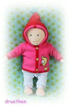 Puppenkleidung, Jacke - Freebie  http://druetken.blogspot.de/2012/12/gratis-schnittmuster-geht-auch-als.html