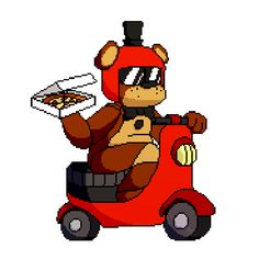 "paperpixel: "" Freddy's Fazbear Pizza Delivery! Had this idea of a Freddy's Fazbear Pizza Delivery and wile I have this ideas block I will work on it. "" ó Stay Calm! — paperpixel: Freddy's Fazbear Pizza Delivery! Freddy S, Five Nights At Freddy's, Fnaf Jumpscares, Animatronic Fnaf, Fnaf Cake, Pokemon, Fnaf Drawings, Fnaf 1, Freddy Fazbear"