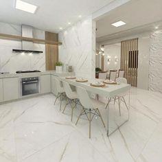 Kitchen Arrangement, Kitchen Models, Open Concept Kitchen, Living Room Kitchen, Home Kitchens, Living Room Designs, Kitchen Design, Sweet Home, House Design