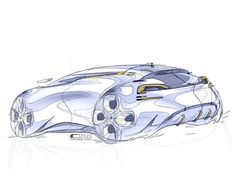Pen Sketch, Sketch Markers, Auto Design, Car Photos, Hot Cars, Concept Cars, Robin, Photo And Video, Interior Design