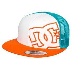 DC Shoes Daxstar white orange blue casquette réglable trucker 27,00 € #dc #dcshoes #dcshoecousa #dcskateboarding #cap #caps #casquette #casquettes #hat #hats #skate #skateboard #skateboarding #streetshop #skateshop @PLAY Skateshop