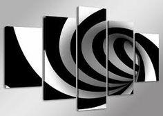 Abstract, zwart-wit schilderij. Art Moderne, Detail Art, Print Wrap, Canvas Prints, Art Prints, Nature Scenes, World Cultures, Graphic Art, Art Pieces