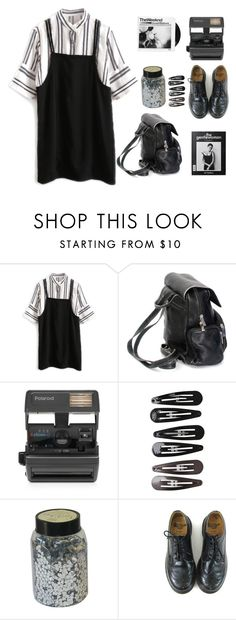 """everywhere I look I catch a glimpse of you"" by heaviside ❤ liked on Polyvore featuring Impossible, Clips and Dr. Martens"