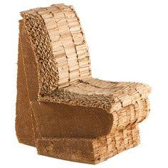 1stdibs   Frank  O Gehry  Sitting Beaver Chair