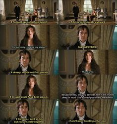 Darcy's inner struggles. These put a whole new perspective to Darcy. Jane Austen Pride and Prejudice