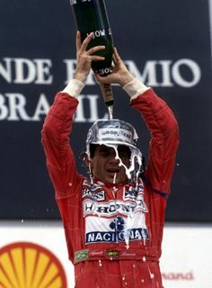 Ayrton Senna- GP Brasil, 1991 - Interlagos