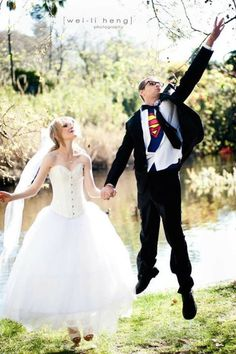 cool pic @Ashley Schreiber you should so have Eric do this- I think he still has his superman shirt.