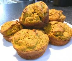 Low Carb Pumpkin Muffins   Best Diabetic Recipes  diabetic recipes