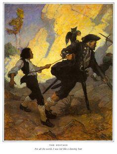 More paintings for Robert Louis Stevenson's 'Treasure Island'
