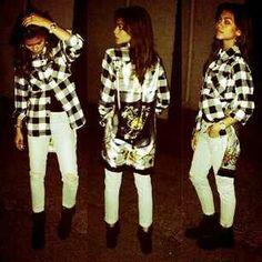 Pinterest:@ashaunti n #Zendaya #outfit #plaid