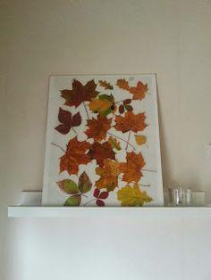 Diy Leaf wall decor