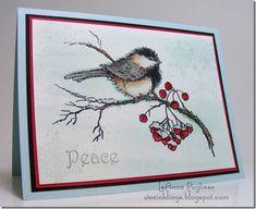Christmas Nail Designs - My Cool Nail Designs Stamped Christmas Cards, Homemade Christmas Cards, Christmas Cards To Make, Xmas Cards, Homemade Cards, Watercolor Christmas Cards, Watercolor Cards, Penny Black Cards, Penny Black Stamps