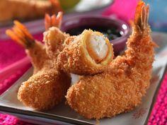Prepara unos deliciosos Camarones Empanizados con esta receta!