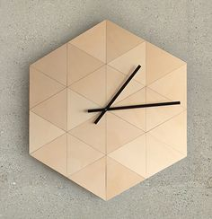 T24_clock Properties Of Materials, Architecture Design, Minimalism, Clock, Pure Products, Home Decor, Material Properties, Watch, Homemade Home Decor