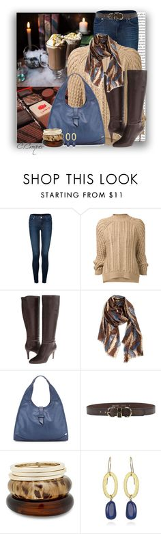 """Chocolate Brown"" by ccroquer ❤ liked on Polyvore featuring мода, Oris, J Brand, 3.1 Phillip Lim, Cole Haan, Nordstrom, SJP, Just Cavalli и MOOD"