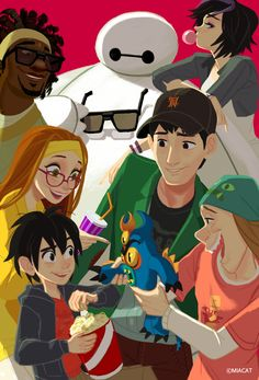 Big Hero 6 by miacat7.deviantart.com on @DeviantArt