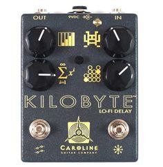 Caroline Guitar Company Kilobyte Delay Pedal