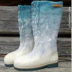 Felt Boots, Rubber Rain Boots, Cowboy Boots, Shoes, Fashion, Moda, Zapatos, Shoes Outlet, Fashion Styles