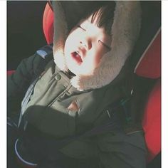 61 Ideas For Baby Kids Ulzzang Cute Asian Babies, Korean Babies, Asian Kids, Cute Babies, Baby Buns, Ulzzang Kids, Girl Sleeping, Cute Korean, Korean Girl