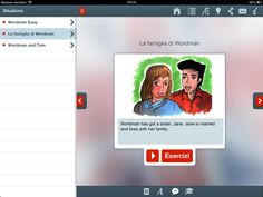 Uno screenshot della nostra applicazione. Memolingue #app