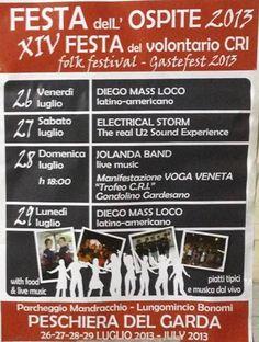 festa ospite a Peschiera del Garda http://www.panesalamina.com/2013/14474-festa-dellospite-a-peschiera-del-garda-vr.html