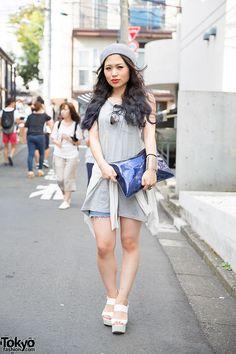 simple ... Mao, singer   30 August 2014   #Fashion #Harajuku (原宿) #Shibuya (渋谷) #Tokyo (東京) #Japan (日本)