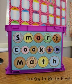 Smart Cookie Math - Timed Test for Math Fact Fluency.  Matching iPhone and iPad available too so kids can practice exactly what level they're on at home!