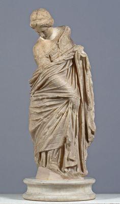 "Statue of a Girl (""The Budapest Dancer"")                                      Date:                      c. 240-220 B.C.                                                                                                    Medium:                     Parian marble"
