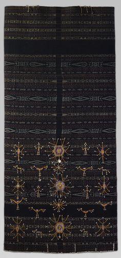 Woman's Ceremonial Skirt (Lawo Butu or Lawo Ngaza) - Ngada people, Flores Island, Indonesia | Heilbrunn Timeline of Art History | The Metropolitan Museum of Art