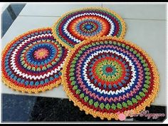SOUSPLAT KIKA - Parte 1 - #LivedaRose ♥ ROSE RAGAZZON - YouTube Free Mandala Crochet Patterns, Mandala Yarn, Homemade Dolls, Crochet Table Runner, Ramadan Decorations, Crochet Videos, Crochet Lace, Doilies, Crochet Projects