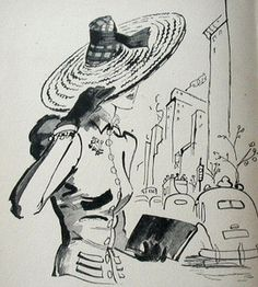 francis marshall fashion illustrator | 1941 Vtg Fashion Illustration Drawing Bk* Francis Marshall British ...
