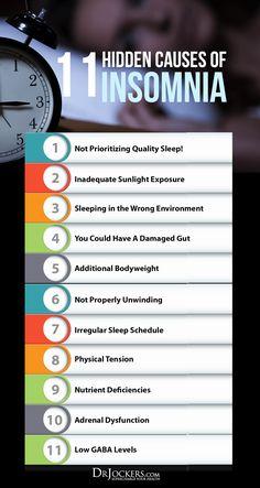 11 Hidden Causes of Insomnia - DrJockers.com