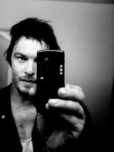 Norman Reedus Sexy Selfie - Man Candy Monday 15