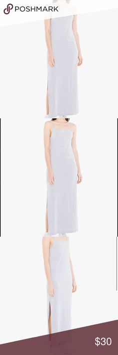 American Apparel jersey tank slit maxi dress! BRAND NEW with tags! Reasonable offers welcome but no lowballs! Photo credits to AA but the last two pictures are mine! American Apparel Dresses Maxi